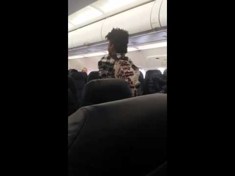 Fight on flight from Dallas to denver on spirit airlines
