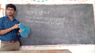 RPM and TORQUE in telugu