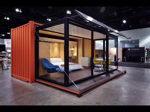 Inspiring Shipping Container Home Interior Design Youtube