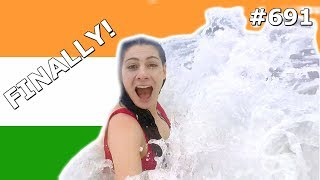 GOA BEACH FUN INDIA DAY 691| TRAVEL VLOG IV