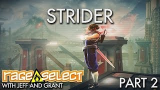 The Dojo - Strider - Part 2