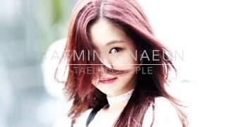 Taemin & Naeun [TaEun]    Music Bank 160930