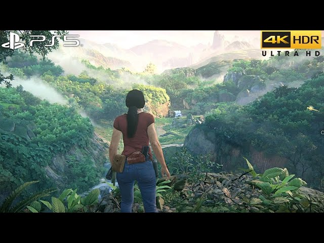 Uncharted: The Lost Legacy (PS5) 4K HDR Gameplay