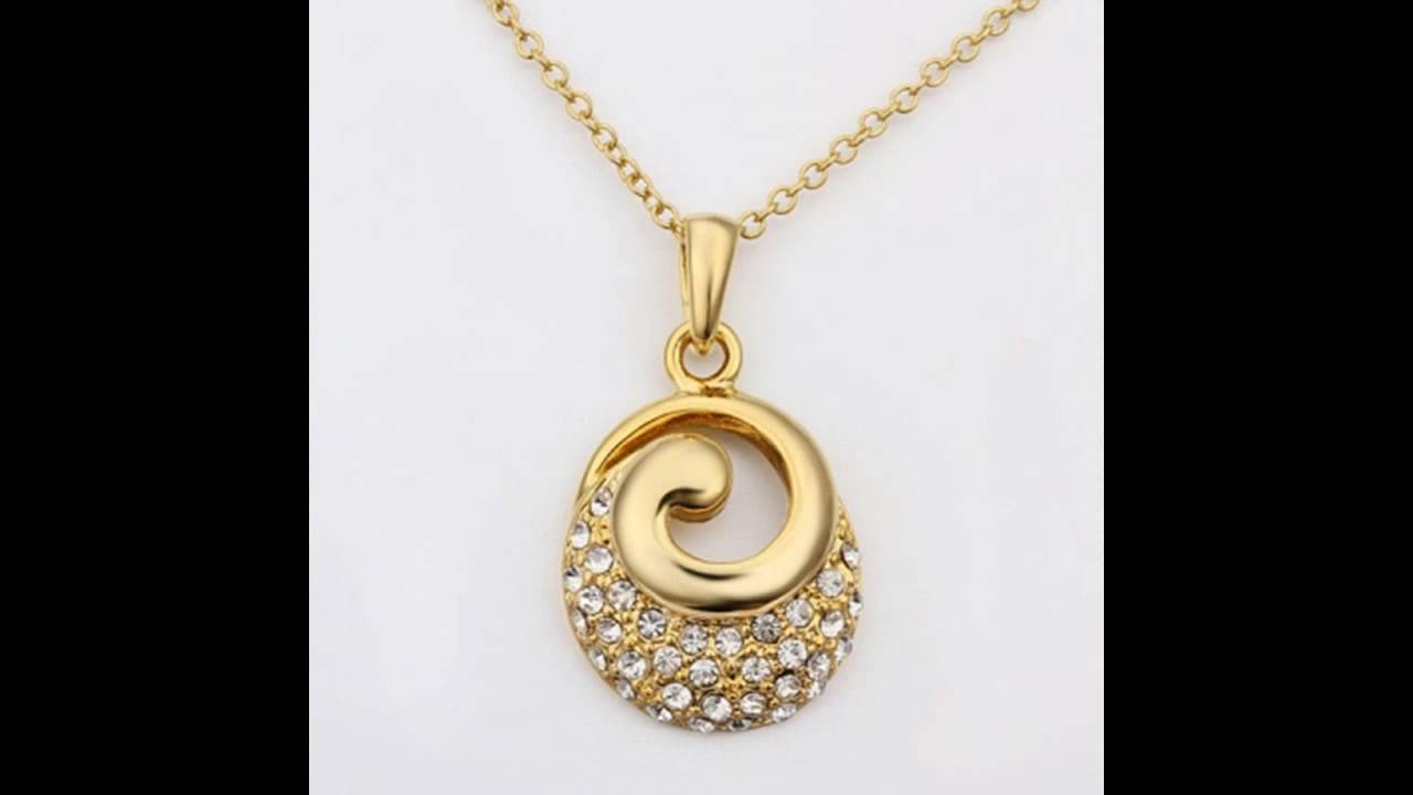 lockets gold necklace locket golden heart k yellow diamond ecuatwitt accent