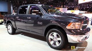 2015 RAM 1500 Big Horn - Exterior and Interior Walkaround - 2015 Chicago Auto Show