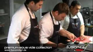 fusionchef by Julabo - Sous Vide Seminar in Greece with Chef Christoforos Peskias