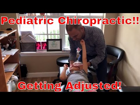 Giving my Daughter a Chiropractic Adjustment - Kids Chiropractic!