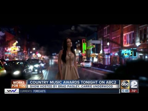Country Music Awards Wednesday night on ABC2