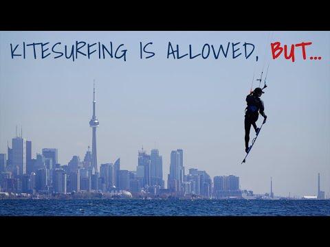 Kitesurfing Is Allowed, BUT...