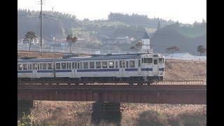 JR九州肥薩線 キハ@川内川橋りょう