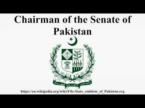 Chairman of the Senate of Pakistan