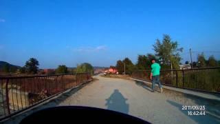 motorvakantie 2011 Weg naar camping.