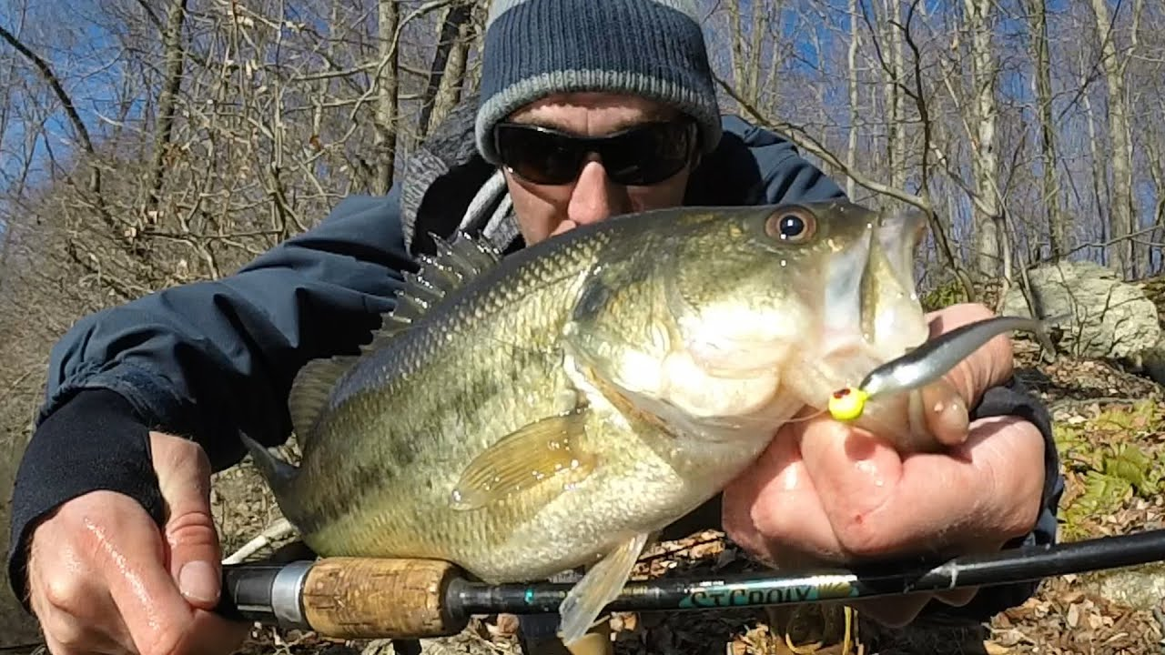 Ultra light late winter early spring bass fishing nj with for Fin s fish
