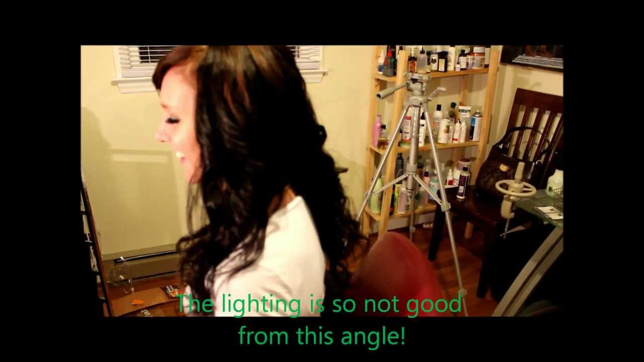 Full Sew In Weave On Caucasian Woman Youtube