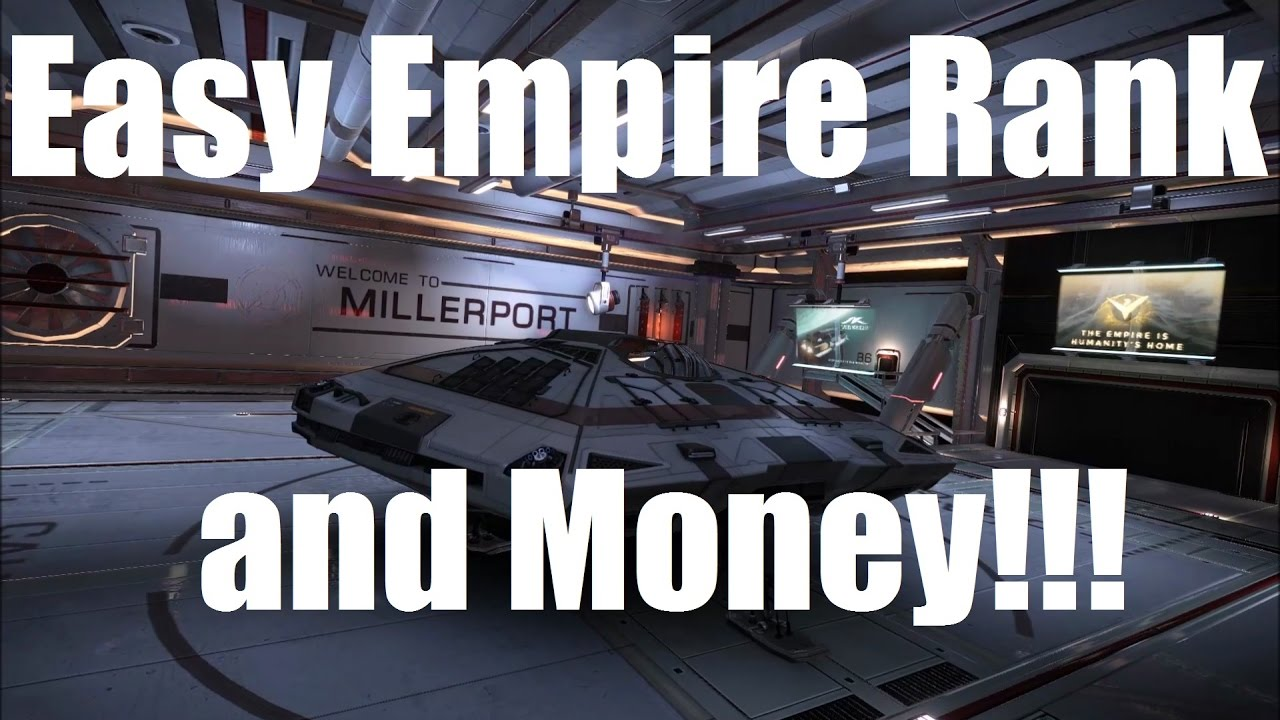 Elite: Dangerous - Easy Millions and Imperial Rank - Ready for 2 3