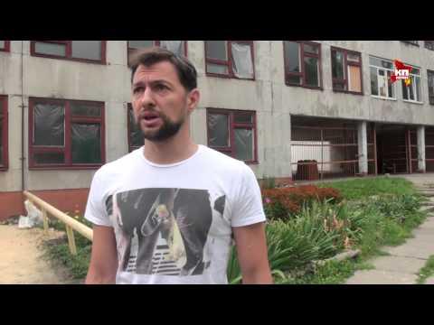 Московский бизнесмен ремонтирует школу под обстрелами