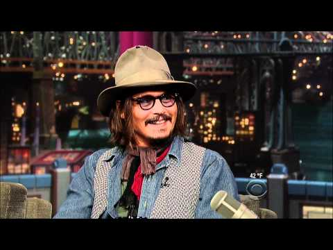 Pt 1 Johnny Depp on Letterman