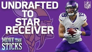 How Adam Thielen Went from Undrafted to the Vikings Star Receiver | Move the Sticks | NFL