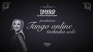 Jakub Grzybek & Patrycja Cisowska- Tango Online Lesson 5 (Women's Technique)