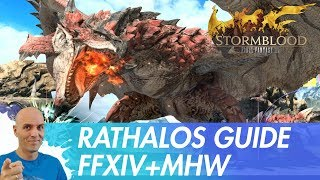 FFXIV - Rathalos Guide - Monster Hunter World Event / Normal