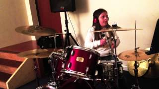 Stone Roses- She Bangs the Drums (Drum Cover by Maisie Bryceland)