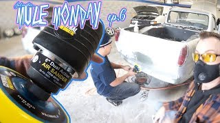 Harbor Freight D/A sander for the mule! - Mule Monday episode 6