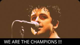 Keren!!! Green day cover lagu We are the champions - Queen