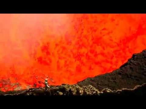 Dem Vulkan ganz nah