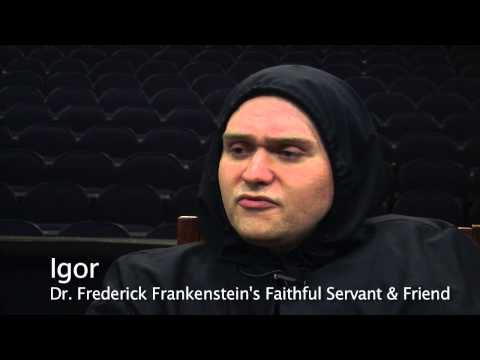 Young Frankenstein - Inga & Igor Interview