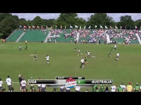 WU23 2015 | USA vs Australia (Mixed) - Final