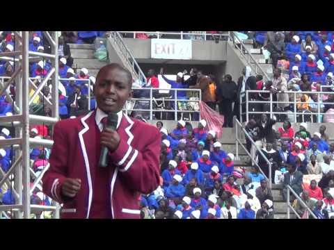 Tapiwanashe Makamba(12) - the boy who shook the stadium at #Ebenezer
