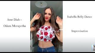 Amr Diab - Odam Merayetha عمرو دياب - قدام مرايتها - Isabella Belly Dance