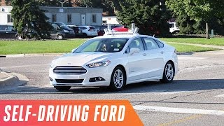 A ride in Ford's first self-driving car
