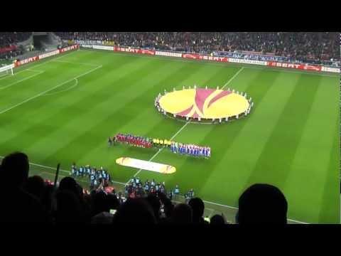 UEFA Europa League Anthem in Amsterdam