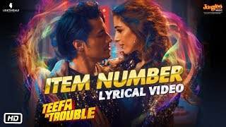 Teefa In Trouble | Item Number | Lyrical  | Ali Zafar | Aima Baig | Maya Ali | Faisal Qureshi