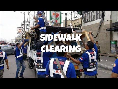 iACT MMDA Clearing Sidewalks