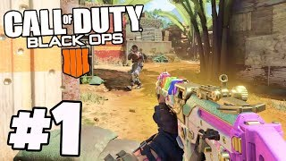 Buying MAX Tier 200 & Legendary Gun Unlocked! | COD Black Ops 4 Best Moments Part 1