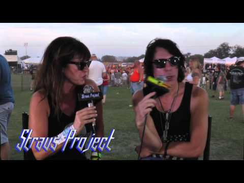 Straus Project: Cara Carriveau and J.R. Straus  interview Johnny Monaco of Enuff Z'Nuff