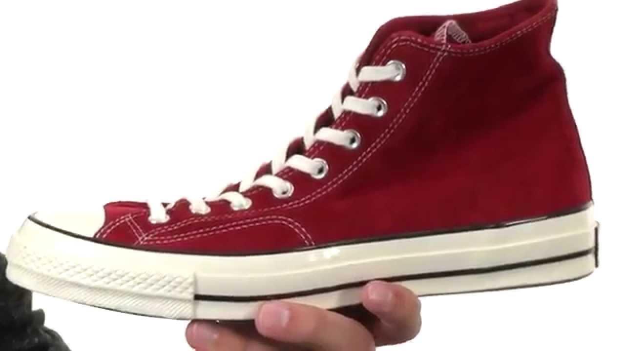 57563010a194d Converse Chuck Taylor® All Star® 70 Hi Suede SKU 8586967 - YouTube