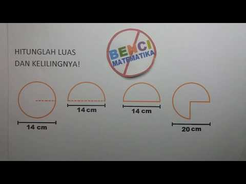 Luas Dan Keliling Lingkaran Matematika SD
