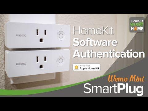 Wemo Mini Wi-Fi Smart Plug—First HomeKit Software
