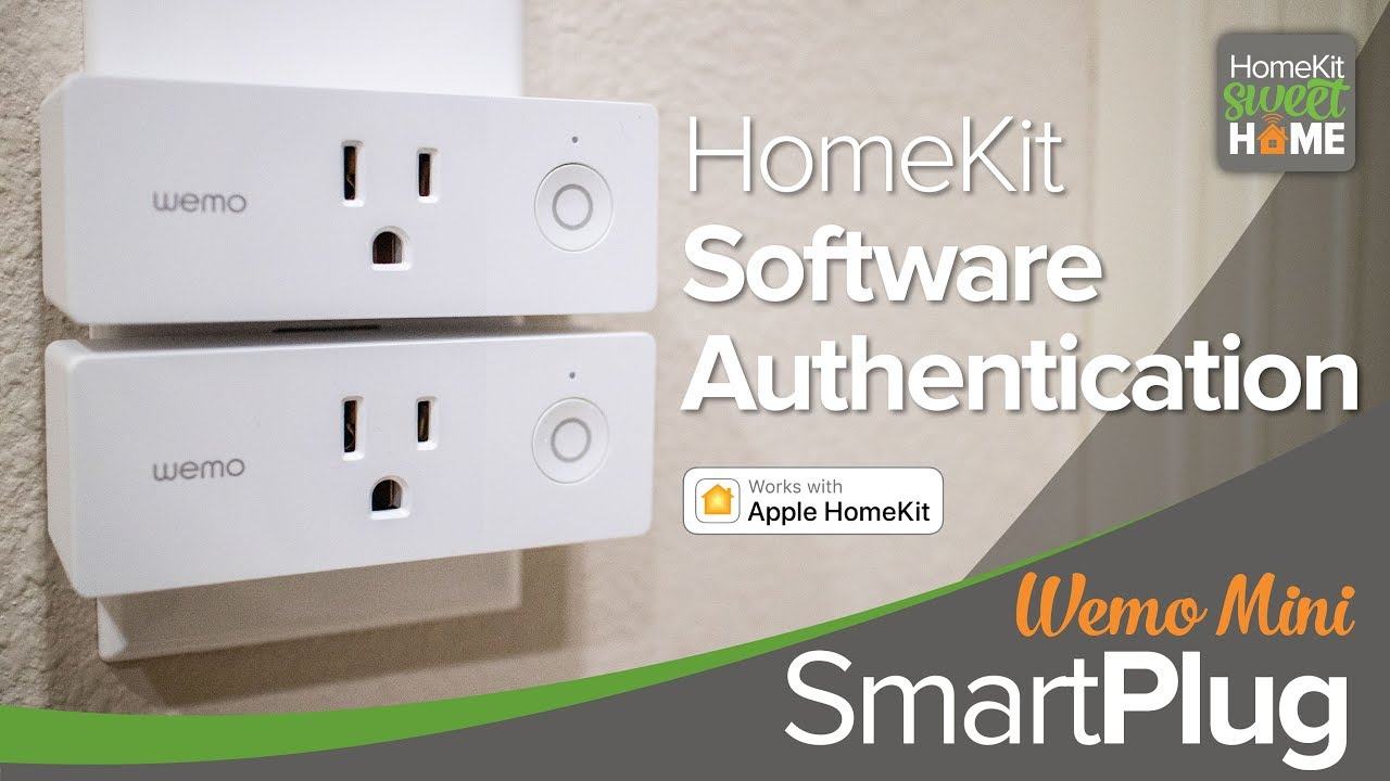 Wemo Mini Wi-Fi Smart Plug—First HomeKit Software Authenticated Accessory!