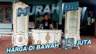 Wooww!!!! Furniture Jepara Murah !! Buffet Tv Mewah Jepara