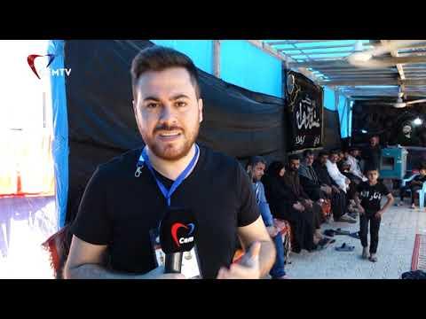 Cem TV ekibi Kerbela'da Erbain matem yürüyüşünü takip ediyor
