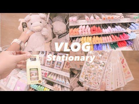 Vlog 01 / พาช็อปเครื่องเขียนงบ200บาท🧤ร้าน moshi Mr.diy✨ มีแต่ของน่ารักเลย |Getthanat💖