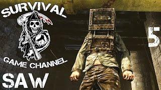 Saw: The Video Game Прохождение На Русском #5 — ЖЕЛЕЗНАЯ ЛЕДИ