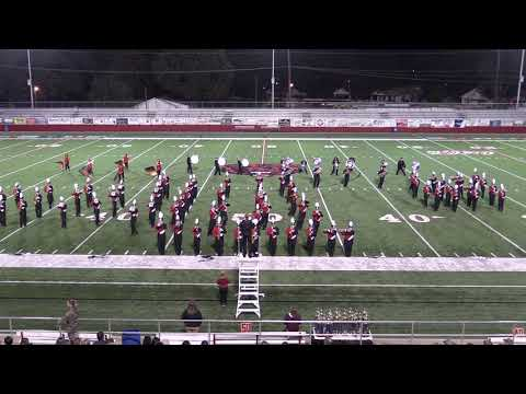 Clarksville High School Marching Band 10-16-18