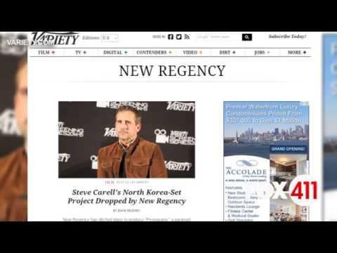 Carrell's N. Korea flick dropped