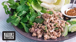 Thai Pork LAAB Salad - Marion's Kitchen