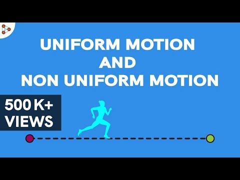 Physics - Uniform Motion and Non-uniform Motion